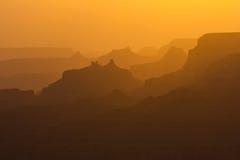 Grands Canyon illusion Royaltyfria Bilder