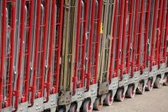 Grands chariots à la livraison Image stock