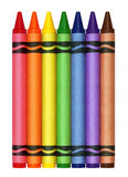 Grands crayons Images stock