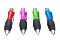 Grands crayons lecteurs initiaux réglés Photo libre de droits