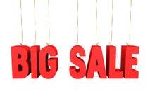 Grands danglers de vente Image stock