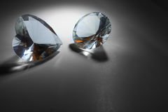 grands diamants Photographie stock
