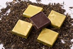 grands dos de chocolat Image libre de droits