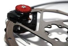 Grands freins à disque Image libre de droits