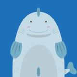 Grands gros poissons mignons Illustration Libre de Droits