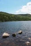 Grands-Jardins National Park in Quebec Royalty Free Stock Images