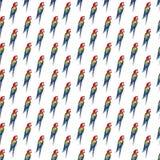 Grands les perroquets tropicaux jaunes de belle belle jungle sophistiquée colorée lumineuse, verts, rouges et bleus tropicaux mod Images stock