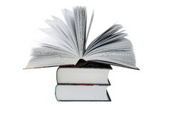 Grands livres Images stock