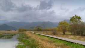 Grands neuf lacs de forêt de Hubei Shennongjia Photographie stock libre de droits