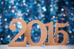 Grands nombres 2015 Photo stock