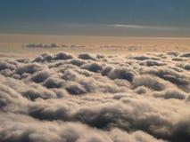Grands nuages Photos libres de droits