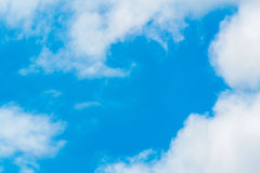 Grands nuages photo stock