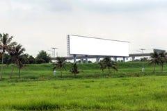 Grands panneaux d'affichage vides Photos stock