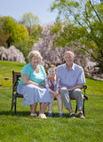 Grands-parents Photos stock