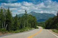 grands park narodowy w Quebec Kanada zdjęcie royalty free