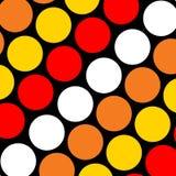 Grands points de polka Images libres de droits