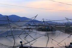 Grands poissons automatiques nets de récupération Photos libres de droits