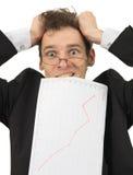 Grands problèmes avec les finances Photo libre de droits