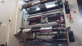 Grands rouleaux de épissure industriels de machine impression de papier brillant clips vidéos