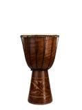 Grands tambours africains exotiques bruns Photos libres de droits