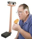 Grands type, beignet et échelle Photographie stock libre de droits