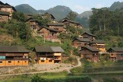 Grands villages de type initial images libres de droits