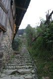 Grands villages de type initial photo stock