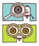 Grands yeux illustration de vecteur