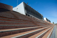 Grandstand architecture Royalty Free Stock Images