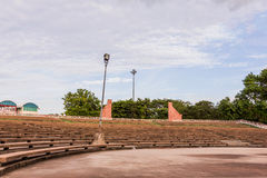 Grandstand Brick Royalty Free Stock Photo