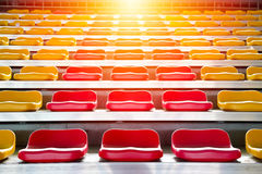 Grandstand chair Royalty Free Stock Photography