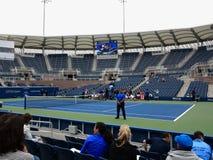 Grandstand Court - US Open Tennis Stock Photo