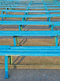 Grandstand old stadium Stock Photo