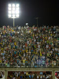 Grandstand, Rio Carnival. Grandstand view at Rio Carnival, Brazil Stock Photos