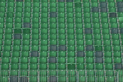 Grandstand seating Stock Image