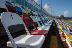 Grandstand Seats Stock Photo