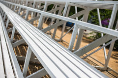 Grandstand Seats Royalty Free Stock Photography