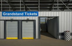 Grandstand tickets Royalty Free Stock Image