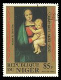 Granduca di Madonna della pittura Immagini Stock