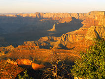 Grandview sunset 1. Grand Canyon sunset from Grandview Point stock photos
