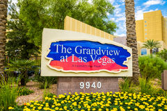 The Grandview timeshare at Las Vegas Stock Image
