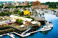 Grandville海岛公开市场加拿大 图库摄影