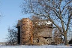 Granero abandonado Foto de archivo libre de regalías