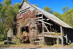 Granero abandonado viejo en Carolina del Norte foto de archivo