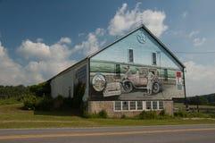 Granero adornado en Pennsylvania Foto de archivo
