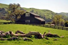 Granero de la granja Foto de archivo libre de regalías