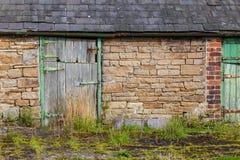 Granero de la piedra de Northumberland imagenes de archivo