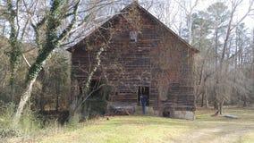 Granero de la plantación de Edgewood Foto de archivo