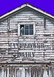Granero de lechería de Mayflower en Fredrickson Washington foto de archivo