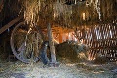 Granero de madera Fotografía de archivo libre de regalías